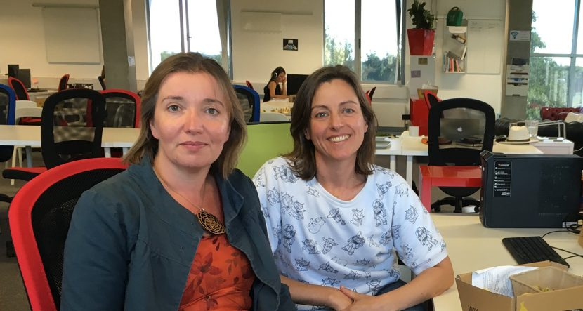 Belinda Bell of Cambridge Social Ventures and Tabitha Stapely of Social Streets at Future Business Centre