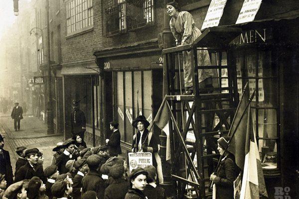 Sylvia Pankhurst 198 Bow Road