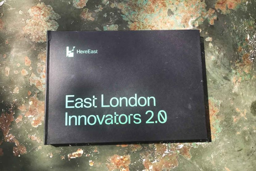 Front cover of East London Innovators book