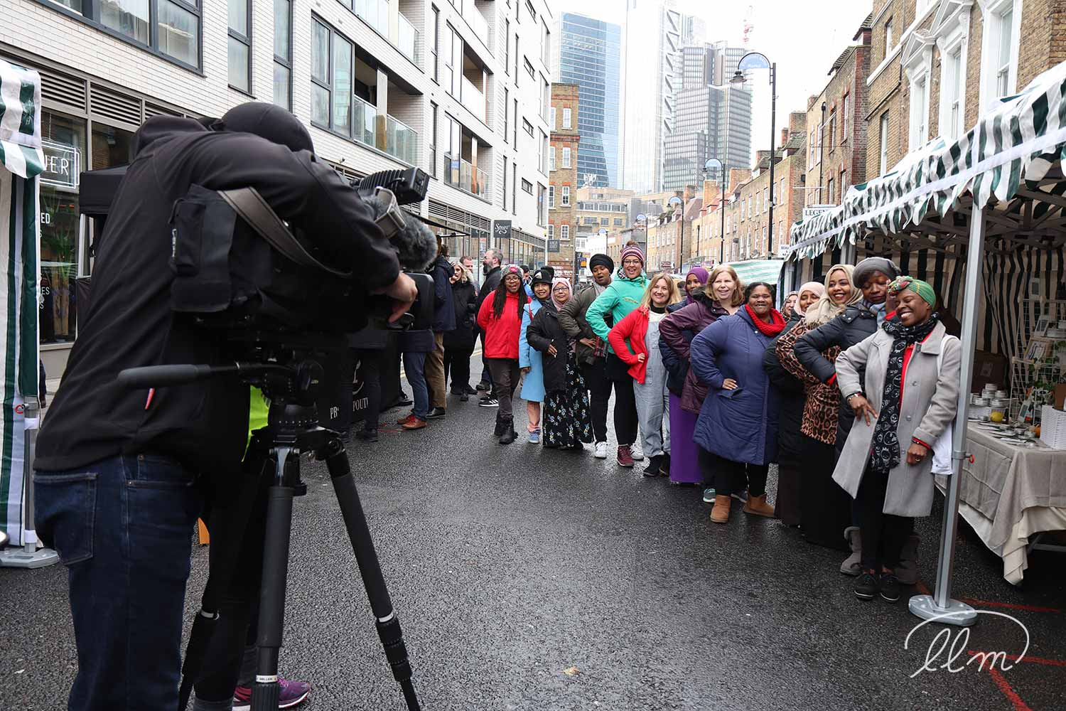 BBC London coverage of Lady Lane Market