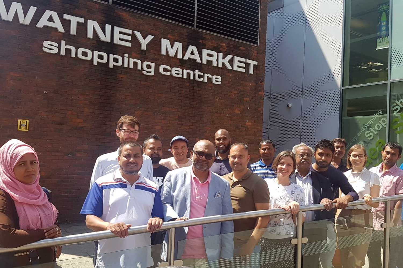 Watney Market social media training programme